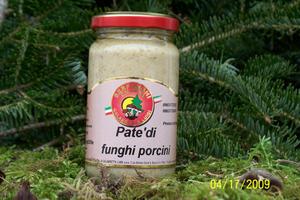 PATE^ DI FUNGHI PORCINI ml 212/580