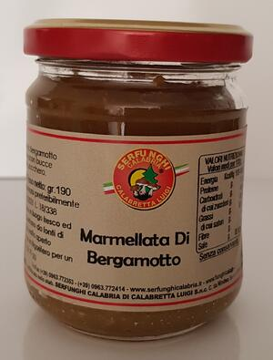 MARMELLATA DI BERGAMOTTO ML 212