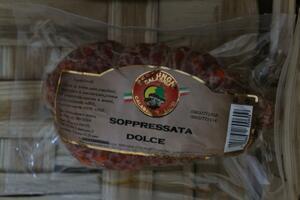 SOPPRESSATA DOLCE PESO CIRCA GR 300 +/-