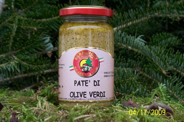 PATE^ DI OLIVE VERDI ml  314 vaso orcio