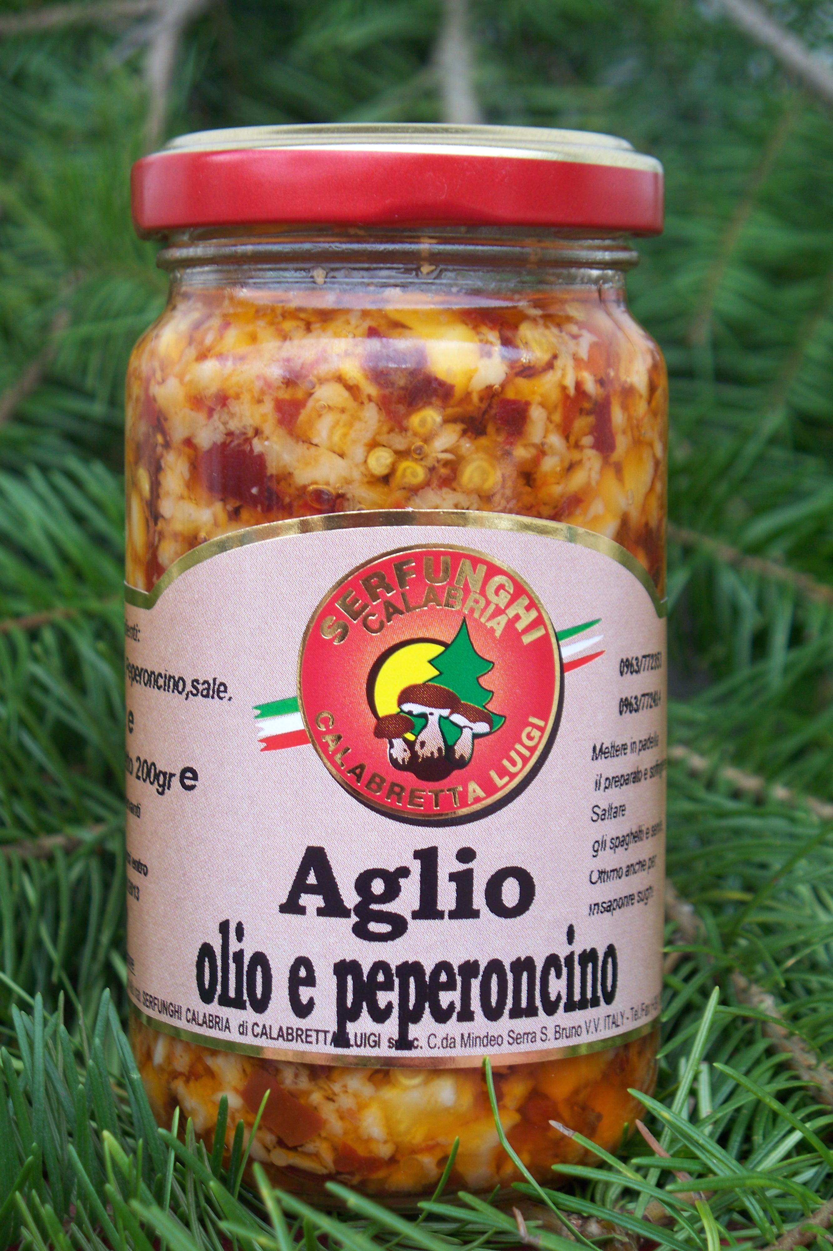 AGLIO OLIO E PEPERONCINO ML 212