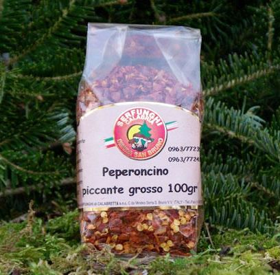 PEPERONCINO PICCANTE A SCAGLIE GR 100-GR 500