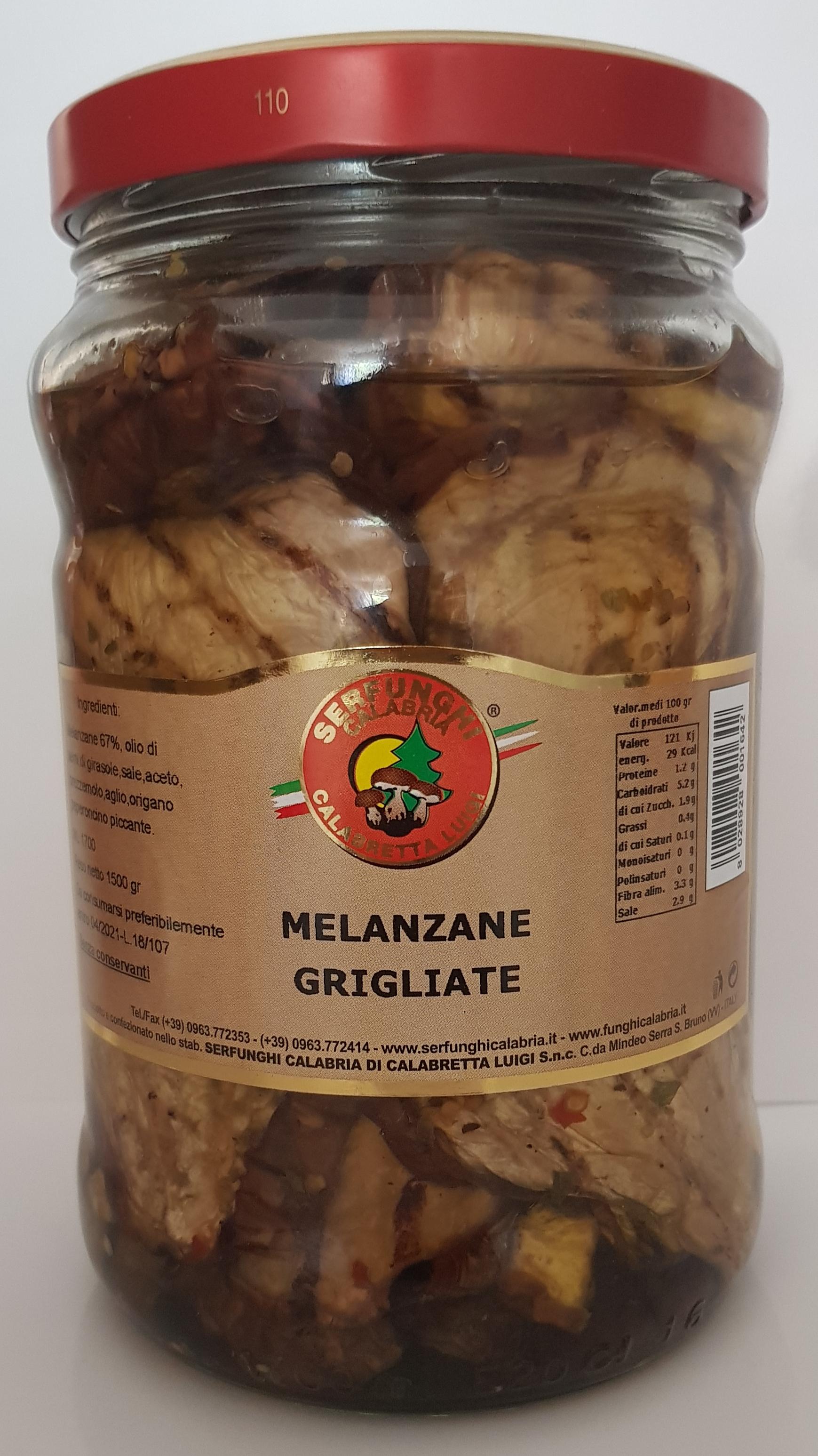 MELANZANE GRIGLIATE ML 1700